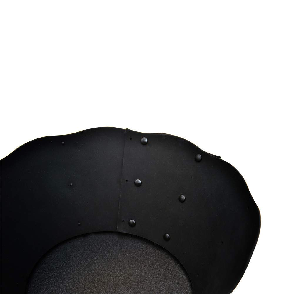 Black Amiley Oil Barrier Cooking Silicone Pot CircleAmiley Premium Cooking Silicone Pot Circle Anti Splashing Oil Baffle Splatter Screens Anti Splashing Oil Baffle Splatter Screens Kitchen Tool