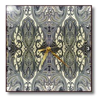 3dRose dpp 195420 2 Elegant Paisley Wall 13 Inch