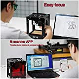KKmoon 10W 450nm Mini Laser Engraving Machine,Smart