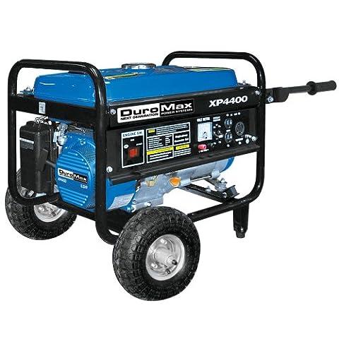 DuroMax XP4400-CA, 3500 Running Watts/4400 Starting Watts, Gas Powered Portable Generator, CARB (Power Gas Generator)