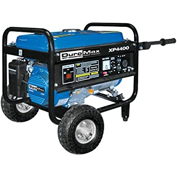 DuroMax XP4400-CA, 3500 Running Watts/4400 Starting Watts, Gas Powered Portable Generator, CARB Compliant