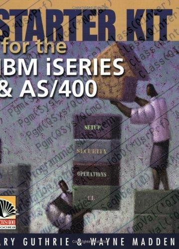 Starter Kit for the IBM iSeries and AS/400 Street Starter System