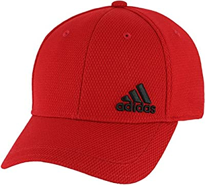 adidas Men's Standard Release Stretch Fit, Scarlet/Black, S/M from adidas