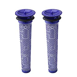 Wolfish 2 Pack Pre-Filters for Dyson DC58, DC59, V6, V7, V8. Replaces Part # 965661-01. 2 Filters