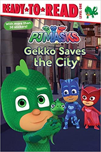 Amazon.com: Gekko Saves the City (PJ Masks) (9781534417724): May Nakamura: Books