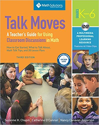 talk moves a teacher guide for using classroom discussions in math number talks books