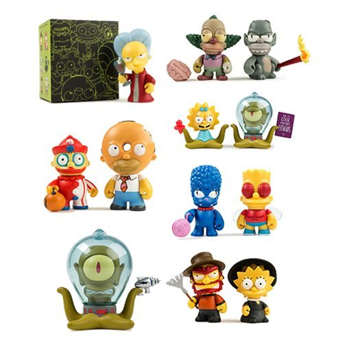 Simpsons Tree House of Horrors Mini-Figure Random 4-Pack -