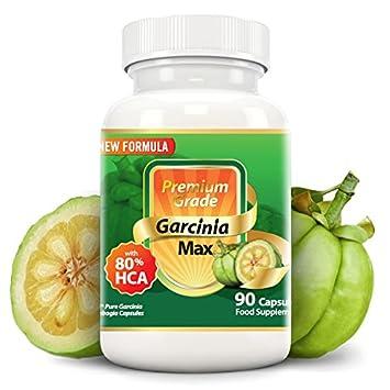 Amazon Com Garcinia Max 100 Pure Garcinia Cambogia 7500mg 80 Hca