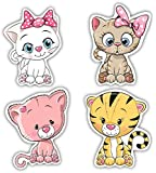 Nourish Cute Cats Fridge Magnets