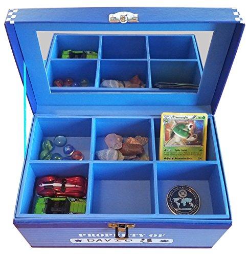 Boys Treasure Box Jumbo by My Tiny Treasures Box Co. (Image #1)