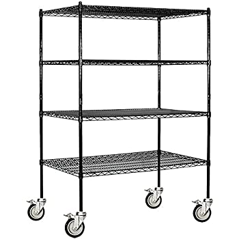 Amazon Com Salsbury Industries Mobile Wire Shelving Unit