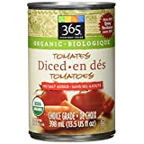 365 Everyday Value Organic Diced Tomatoes No Salt Added, 13.5 US fl Oz
