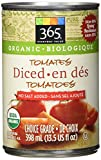 365 Everyday Value Organic Diced Tomatoes No Salt Added, 14.5 oz
