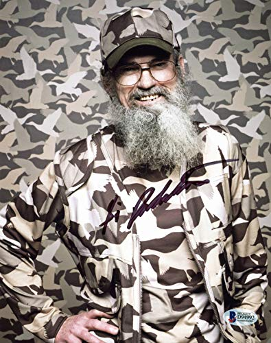 Si Robertson Duck Dynasty Authentic Signed 8x10 Photo Autographed BAS #D94992 - Robertson Signed Photo