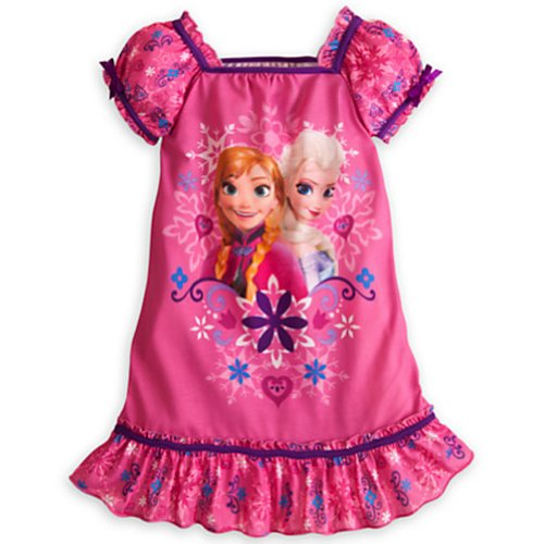 Disney Frozen Nightshirt Nightgown Pajamas