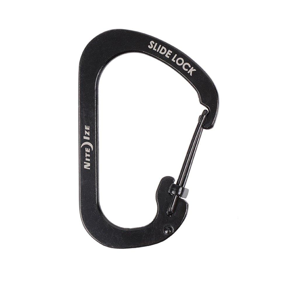 Nite Ize CSL2-01-R6 Carabiner Slide Lock, Black