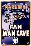 Detroit Tigers Fan Man Cave Sign 8 X 12