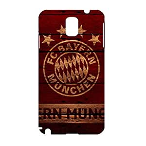 3D Fresh Style Football Club Hard Plastic Phone Case For Samsung Galaxy Note 3 Bayern Munchen Football Club Logo Print Design For Ladys