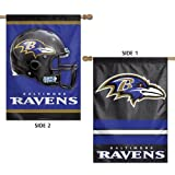 """Baltimore Ravens Official NFL 28""""x40"""" Banner Flag by Wincraft"""