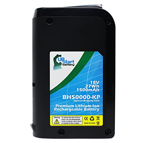 Price comparison product image Hoover LiNX BH50010 Battery Replacement - For Hoover 18V Vacuum Battery (1500mAh,  Lithium-Ion)