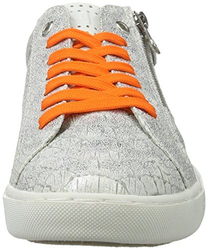 Marco Tozzi Women's 23609 Low-Top Sneakers Silver (Silver Struct. 927) uPgzNJXx4o