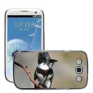 GoGoMobile Slim Protector Hard Shell Cover Case // M00124572 Female Juvenile Bird Kingfisher // Samsung Galaxy S3 S III SIII i9300