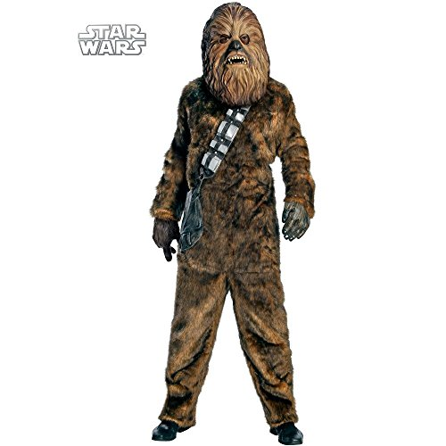 [Deluxe Chewbacca Costume - Standard - Chest Size 46] (Deluxe Chewbacca Costumes)