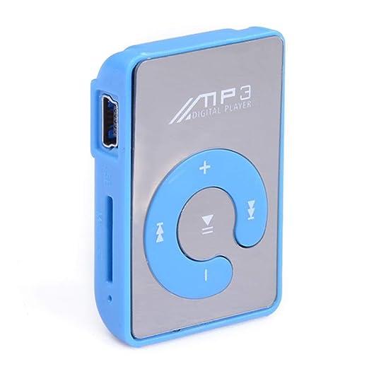 Amazon com: Asatr USB Mini Mirror Clip Mp3 Sport Music