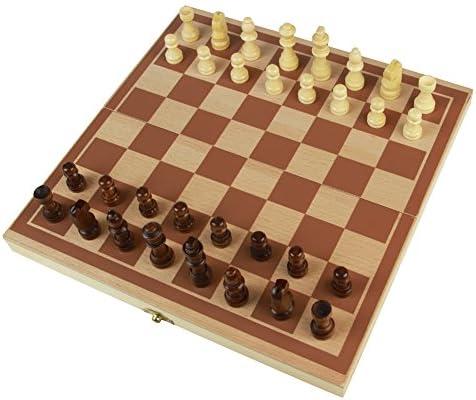 yoptote Juego de ajedrez de Madera para Juguetes, Juegos de Mesa ...