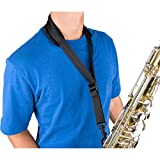 #5: Pro Tec A305P 24-Inch Tall Padded Saxophone Neck Strap with Swivel Snap