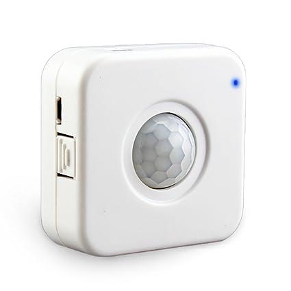 aixi-SHS Wi-Fi PIR Sensor de movimiento de la aplicación alertas alarmas USB
