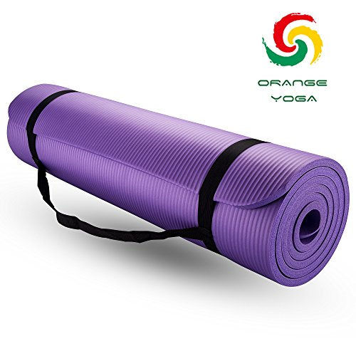 "Yoga Mat, 72"" X 24"" X 2/5"" multiple use Exercise Mat"