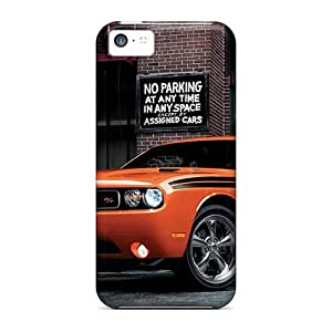 Anti-scratch And Shatterproof 2014 Dodge Challenger Rt Classic Phone Case For Iphone 5c/ High Quality Tpu Case