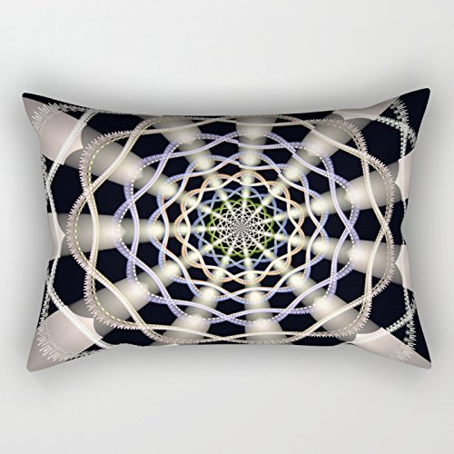 Loveloveu Geometry Pillow Covers 16 X 24 Inches / 40 By 60 Cm Best Choice For Chair,car,club,christmas,birthday,teens Girls With Twin ()