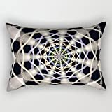 slimmingpiggy throw pillow case of geometry,for gril friend,bar seat,couples,chair,bench,seat 20 x 30 inches / 50 by 75 cm(2 sides)
