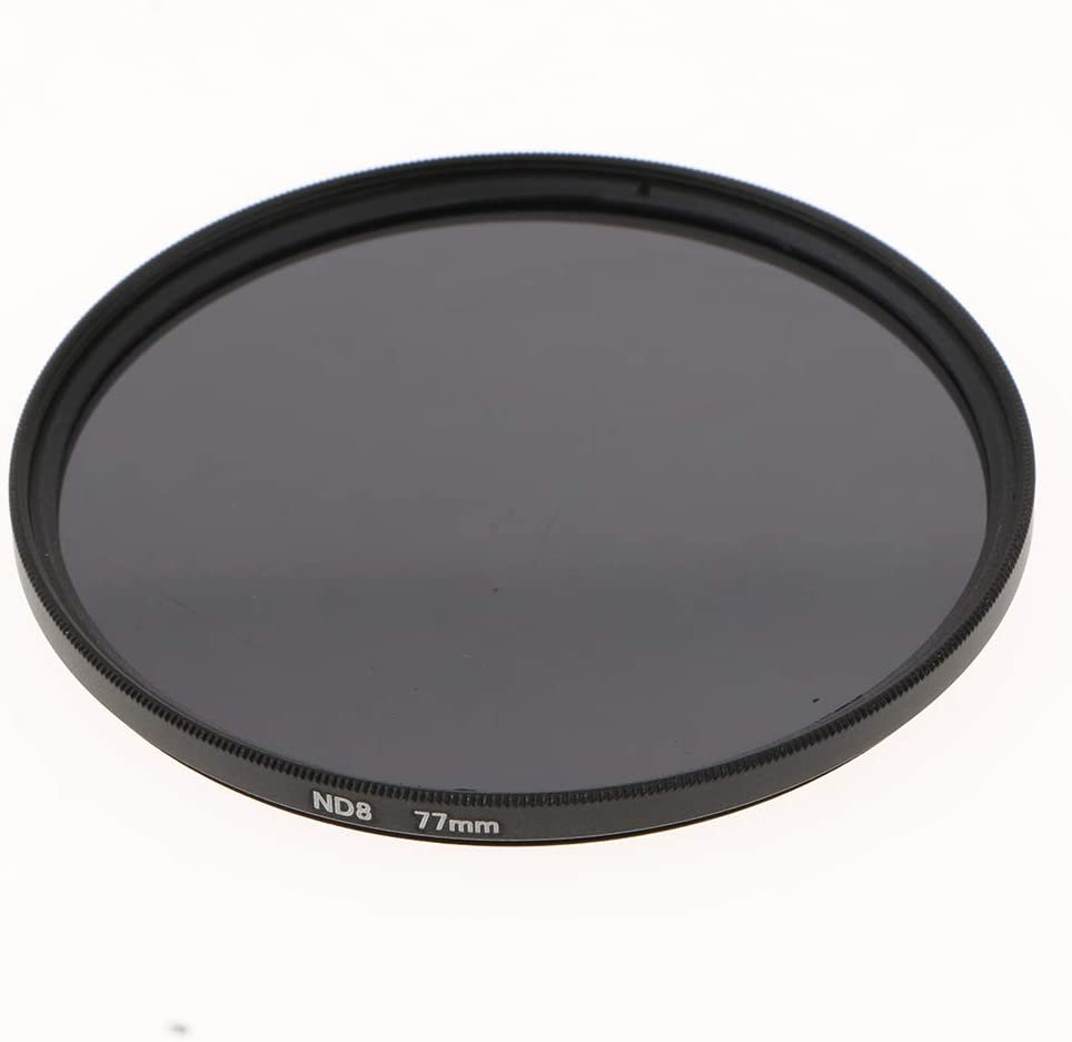 3 Pcs 77mm UV CPL ND8 Lens Accessory Filter Kit with Pouch for Digital SLR