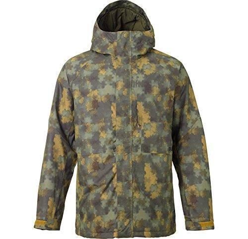 Burton Mens Hilltop Jacket (Saw Camo / Small)
