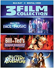 Bill & Ted Face the Music/Bill&Ted Bogus Journey/Bill&Ted Excellent Adventure (3 Film Bundle/Blu-r