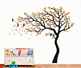 CaseFan Large Family Tree Wall Stickers Mural Paper for Livingroom Baby Room ...