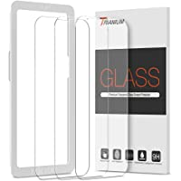 Trianium Screen Protector Compatible for iPhone 13 / iPhone 13 Pro 2021 3 Pack 6.1 inch Tempered Glass 9H Film - HD (w…