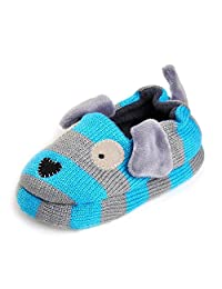 KVbaby Unisex Kids Comfort Cartoon Animal Slippers Cotton Warm Spring Autumn Winter Non-Slip House Slipper