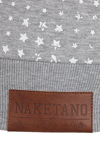 Sweat Grey Naketano Melange shirt Uni Femme 0vxg4qU