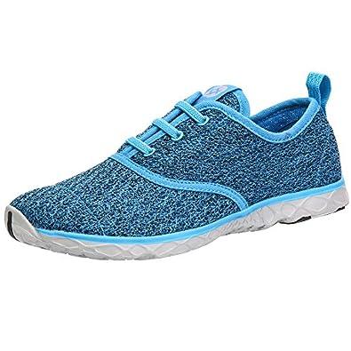 Amazon.com | Aleader Women's Quick Drying Aqua Water Shoes | Water ...