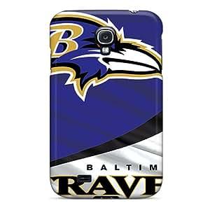 Lawshop Premium Protective Hard Case For Galaxy S4- Nice Design - Baltimore Ravens