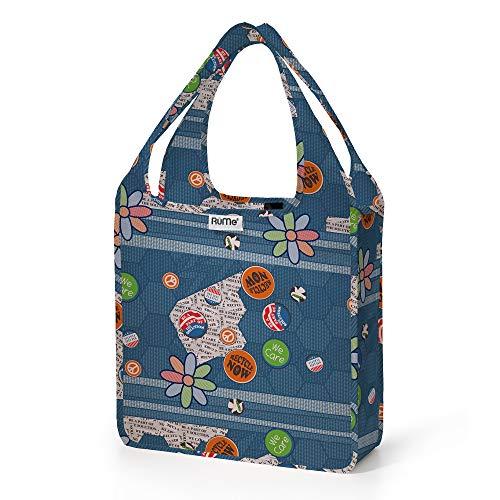 RuMe Bags Mini Tote Bag (Flower Power)