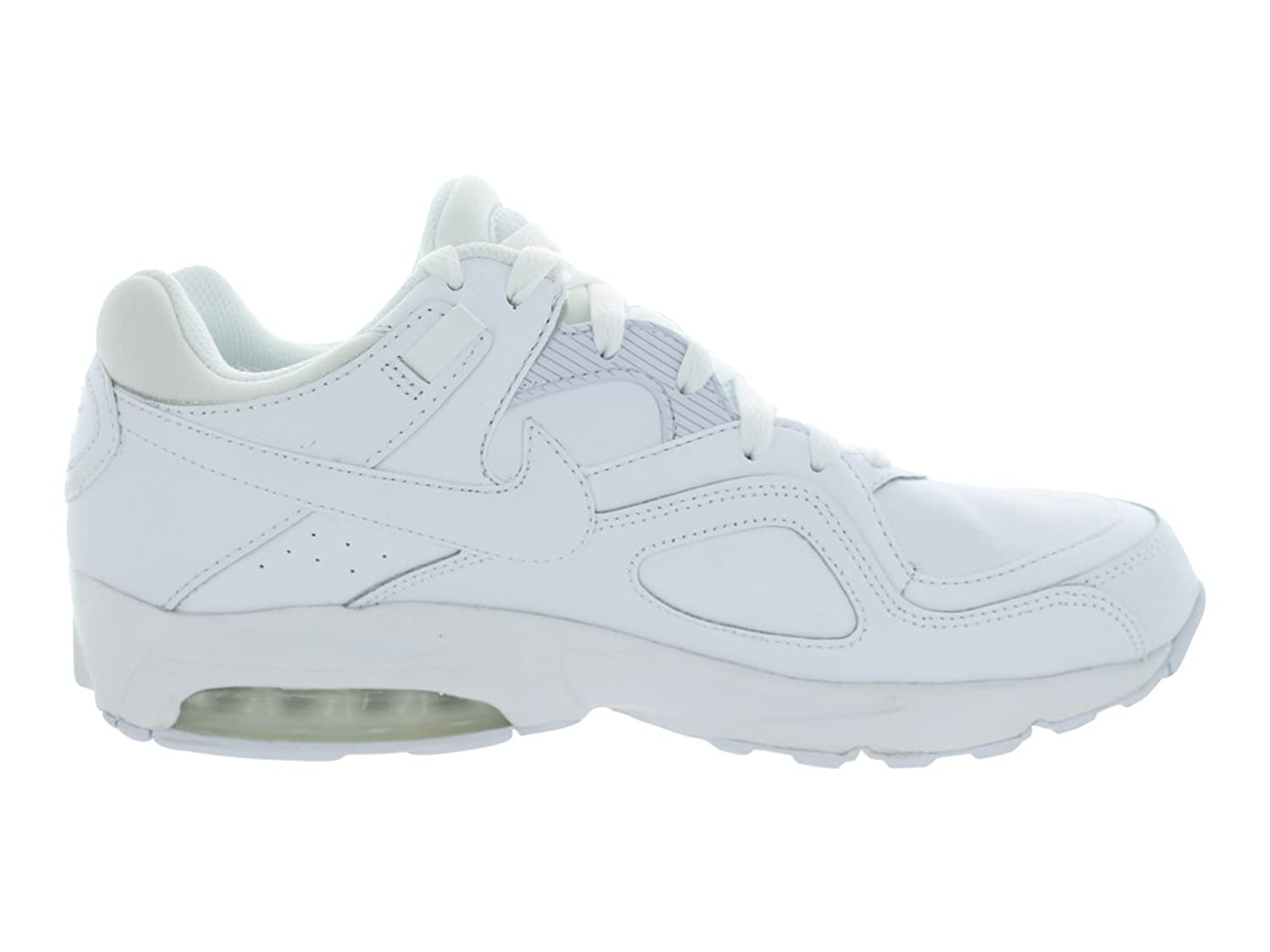 Details about Nike Air Max Go Strong Leather Leather Trainers Men White Shoes New 456784111