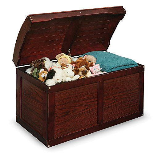 Cherry Barrel Top Toy Storage Box with Lid Containers and Chest Organizer Bins for Kids Pet Toys ,Cars and Accessories - Children Home Units Solutions!