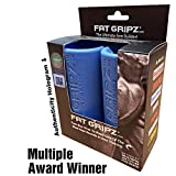 "Fat Gripz - The Award-Winning Shortcut to Head-Turning Arms (2.25"" Diameter, Original) (Blue)"