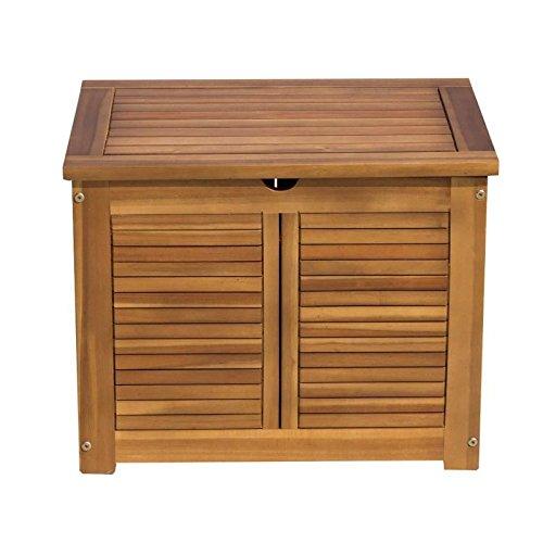 FINLANDEK Coffre de rangement de jardin - En bois d'acacia naturel 3533412002142