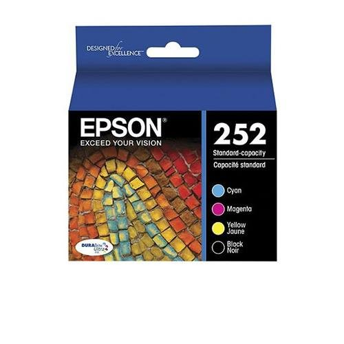 Epson DURABrite Ultra Ink T252 Ink Cartridge - Cyan, Black, Magenta, Yellow